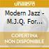 Modern Jazz - M.J.Q. For Ellington