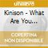 Kinison - What Are You Listening To