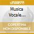 MUSICA VOCALE SPAGNOLA E MESSICANA T