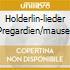 HOLDERLIN-LIEDER PREGARDIEN/MAUSER