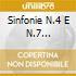 SINFONIE N.4 E N.7 SAWALLISCH - RCO