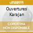 OUVERTURES KARAJAN