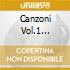 CANZONI VOL.1 BINKLEY/STUDIO DER FRU
