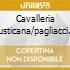 CAVALLERIA RUSTICANA/PAGLIACCI (SELE