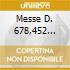 MESSE D. 678,452 SAWALLISCH POPP FIS