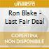 Ron Blake - Last Fair Deal