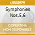 SYMPHONIES NOS.5,6