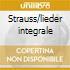 Strauss/lieder integrale