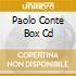 PAOLO CONTE BOX CD