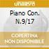 PIANO CON. N.9/17