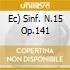 EC)       SINF. N.15 OP.141