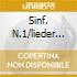 SINF. N.1/LIEDER EINES FAHREND