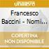 Francesco Baccini - Nomi E Cognomi