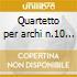 Quartetto per archi n.10 op.74, n.11 op.