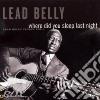 Belly Lead - Where Did You Sleep Last Night?