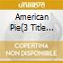 AMERICAN PIE(3 TITLE ROSSO)