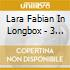 LARA FABIAN IN LONGBOX - 3 CD REMASTERED + BOOKLET + PHOTOS