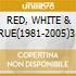 RED, WHITE & CRUE(1981-2005)3 N.Tr.