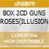 BOX 2CD GUNS N'ROSES(ILLUSION 1e2)