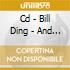 CD - BILL DING - AND THE SOUND OF ADVENTU