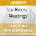 Tito Rinesi - Meetings