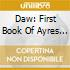 DAW: FIRST BOOK OF AYRES 1600