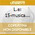 L.E: 15-MUSICA ITALIANA X CLAVICEMBA