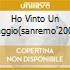 HO VINTO UN VIAGGIO(SANREMO'2001)
