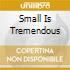 SMALL IS TREMENDOUS