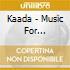 Kaada - Music For Moviebikers