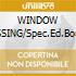 WINDOW DRESSING/Spec.Ed.Bonus CD