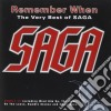 Saga - Remember When - The Very Best