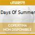 DAYS OF SUMMER
