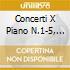 CONCERTI X PIANO N.1-5, SONAT