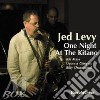 Jed Levy - One Night At The Kitano