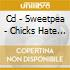 CD - SWEETPEA - CHICKS HATE WES