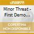 Minor Threat - First Demo Tape