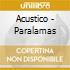 Acustico - Paralamas