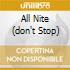ALL NITE (DON'T STOP)