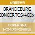 BRANDEBURG CONCERTOS/4CDx1