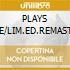 PLAYS LIVE/LIM.ED.REMAST. digipack