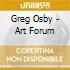 Greg Osby - Art Forum