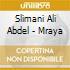 Slimani Ali Abdel - Mraya
