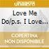 LOVE ME DO/P.S. I LOVE YOU/LOVE ME D