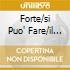 FORTE/SI PUO' FARE/IL VIAGGIATORE(FR