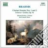 Johannes Brahms - Sonata X Clar N.1 Op.120, N.2 Op.120, Sonatensatz, Lieder Op.91