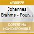 Johannes Brahms - Opere X Pf A 4 Mani Vol.2: Danze Ungheresi Woo 1, Liebeslider Valzer Op. 52a