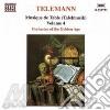 Georg Philipp Telemann - Tafelmusik Vol.4: Parte III: Ouverture,quartetto In Mi Min, Concerto X 2 Corni,