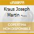 Kraus Joseph Martin - Sinfonia In Mib Mag Vb 144, In Do Mag Vb 139, In Do Min Vb 142, Olympie Ouvertur
