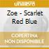 Zoe - Scarlet Red Blue